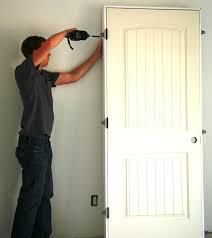 Do-it-Yourself Door Hanging