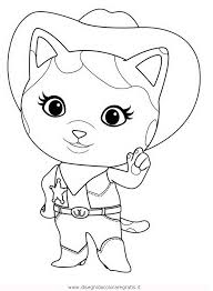 Small Picture Cat Sheriff Coloring Page Coloring Home