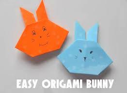 picture of origami paper rabbit easy tutorial diy crafts