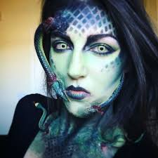 medusa makeup tangledandteasedhair makeup specialeffectsmakeup amazingmakeup