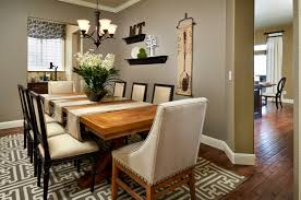 Round Dining Table Centerpiece Dark Gray Fabric Seat Armless - Round dining room furniture