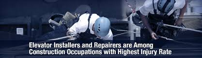 Elevator Installers And Repairers Among Highest Injury Rate