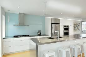 kitchen white glass backsplash. Kitchen Design Ideas - 9 Backsplash For A White / Add Pop Of Glass P