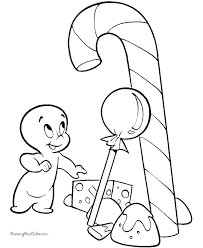 Free Coloring Pages Of Ghosts For Halloween 011