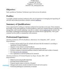 Vet Tech Resume Examples Templates Veterinary Technician Resume Fred