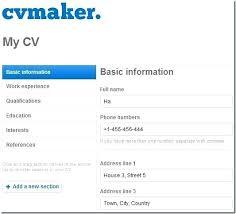Make A Resume Online Free Interesting Make Your Resume Online Engneeuforicco