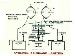 battery isolators e marine systems 1 alternator 4 battery · 2 alternator 3 battery