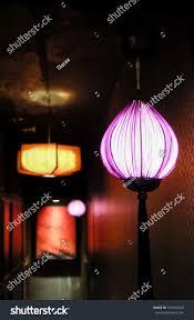 Hanging Paper Lantern Lights Indoor Classic Chinese Lantern Illuminated Led Lights The Arts
