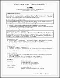 Work Resume Examples With Work History Job Resume Skills Section Skills Resume Example For Getting Job 39