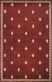 interior architecture impressive fleur de lis rug of kas corinthian rugs direct fleur de lis