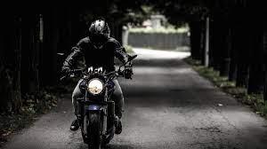 Bike Rider 4K wallpaper