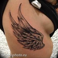 фото тату крылья коллекция готовых рисунков эскизы значение