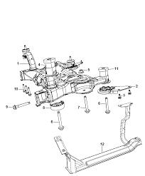Crossmember front suspension for 2009 dodge journey rh moparpartsgiant front suspension diagram 98 ranger front