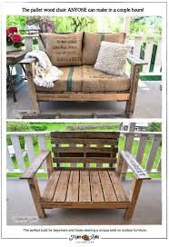 the pallet wood chair anyone can make in
