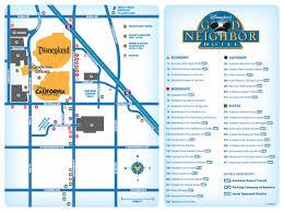 good neighbor hotels disneyland map  newatvsinfo