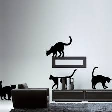 the cats wall decal