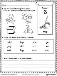 Students look at the pictures and circle the correct word. Short O Sound Worksheet Short Vowel Worksheets Short A Worksheets Vowel Worksheets