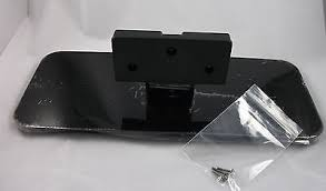 vizio tv base stand. vizio e320-a0 32 replacement lcd television tv stand base pedestal neck screws d