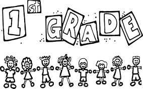 Small Picture 1st Grade Children School Coloring Page Wecoloringpage Printable