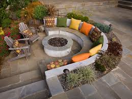 Image result for turning an old pond into a fire pit