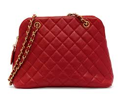 A CHERRY RED QUILTED LEATHER SHOULDER BAG Christie's Luxury ... & A CHERRY RED QUILTED LEATHER SHOULDER BAG Adamdwight.com