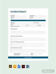 10 Sample Security Incident Reports Pdf Word Pages