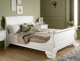 king size bed frame solid oak 213x205cm icon by post