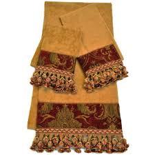 Decorative Bathroom Towels Sets Arabesque Bath Towel Collection Bedbathandbeyondcom New Hand