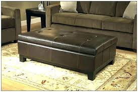 light brown leather ottoman tufted coffee table furniture captivating round black mesmerizing on and also bed chair with