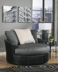 Oversized Swivel Chairs For Living Room Mocha Oversized Swivel Chair By Ashley Furniture