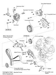 lexus seal water pump timing belt the cams and crank lining black rtv is fine graphic