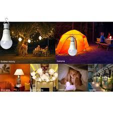 Camping Lights Dubai Rechargeable Emergency Led Bulb Jackonlux Multi Function