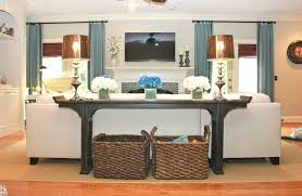 sofa table in living room. Console Table Decor Ideas And Sofa In Living Room