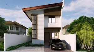 2 story house design with floor plan you