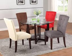 Dining Room Sets With Colored Chairs Marceladickcom - Dining room sets with colored chairs