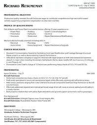 Sample Resume For Electronics Technician Aviation Electronics Technician Resume Best Of Aircraft Mechanic