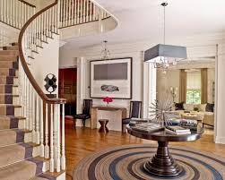 dazzling design ideas round entry rugs delightful round entry table ideas pictures remodel and decor