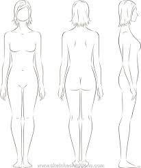 Gallery For Body Template For Costume Design For School