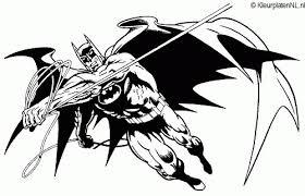 Batman Kleurplaat Kleurplaten 225 Kleurplaat Kleurennet