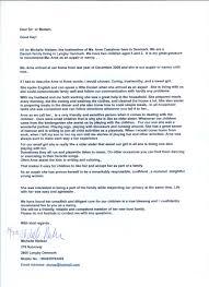 Nanny Reference Letter Barca Fontanacountryinn Com