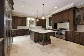 pictures dark kitchen cabinets