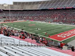 Ohio Stadium Seating Chart With Row Numbers Ohio Stadium Section 29a Rateyourseats Com