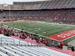 Ohio Stadium Seating Chart With Rows Ohio Stadium Section 29a Rateyourseats Com