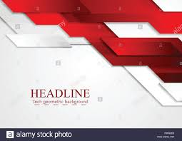 Brochure Graphic Design Background Abstract Tech Corporate Red And Grey Contrast Background