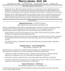 Entry Level Registered Nurse Resumes Examples Of Registered Nurse Resumes Nurse Resume Sample Examples