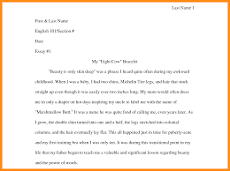 critical response essay format haadyaooverbayresortcom car how to format college papers ccot essays samples of college essays narrative essay format how to