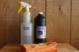 how to clean slate hydrogen peroxide cleaning solution