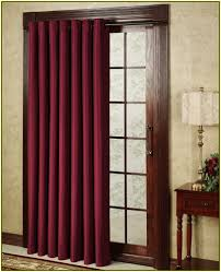 patio doors for sliding door curtain design window or glass best blackout curtains using blinds home color ideas