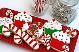 Candy Cane Theme Decorations Christmas Cookie Ideas 77