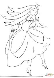 Dancing Princess coloring page | Free Printable Coloring Pages